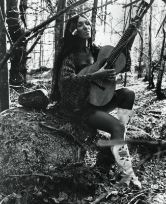 Buffy Sainte-Marie, circa 1970. Photo: Flare [2013]