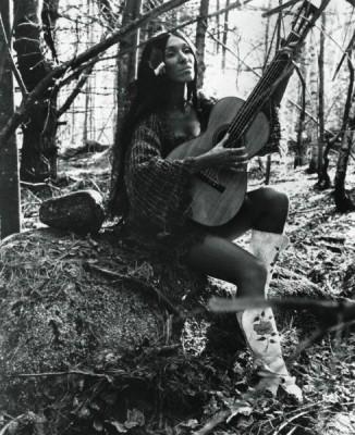 Buffy Sainte-Marie, circa 1970. Photo: Flare [2013]