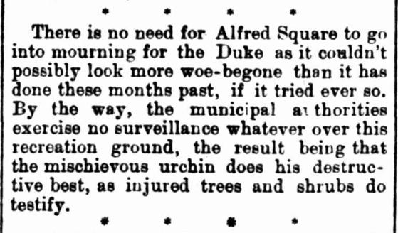 Cumberland Argus, 1900