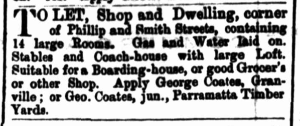 """Advertising,"" The Cumberland Mercury (Parramatta, NSW: 1875 – 1895), Saturday 1 December 1883, p. 5"